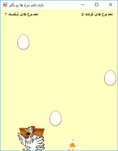 نجات تخم مرغ ها
